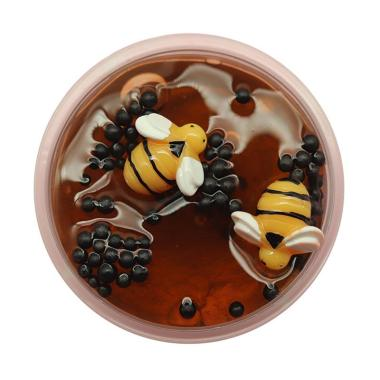 harga H-IKEA #Chocolate Crystal Clear Honey Slime Bee Polymer Modeling Clay Hand Glue Antistress Mud Putty DIY Toy Blibli.com
