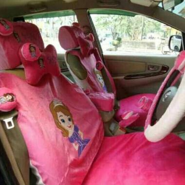 harga Bantal Mobil Store 14in1 Boneka Princess Sofia Set Aksesoris Interior Mobil Blibli.com