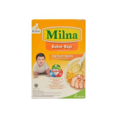 harga Milna Bubur Bayi 8-12 Bulan Rasa Sup Ayam Jagung [120gram] Blibli.com