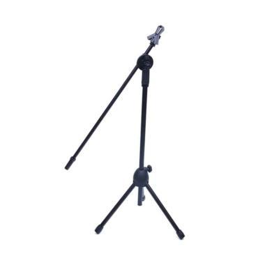 harga OldOAK NB-07 Professional Microphone Stand Mic Tripod Holder Mikrofon [2 Klip] Blibli.com