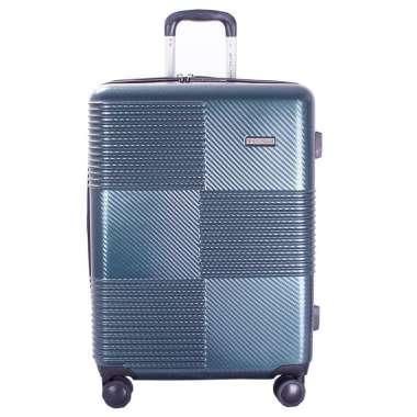 Navy Club Tas Koper Hardcase Fiber ABS - 4 Roda Putar Kunci TSA - Expandable - CICF Size 28 Inch