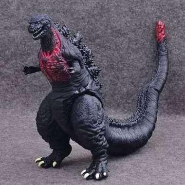 Shin Godzilla Action Figure / Mainan Godzilla