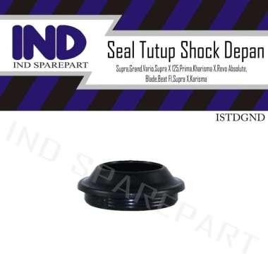 harga IND Onderdil Seal Tutup Shock Depan Motor for Honda Spacy FI - Sonic 150 R - Yamaha Mio Lama & Mio Soul BLACK Blibli.com