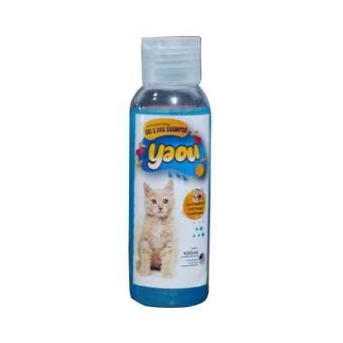 harga YAOU shampo pencegah kutu anjing kucing dan kelinci wangi - Blue gum Blibli.com
