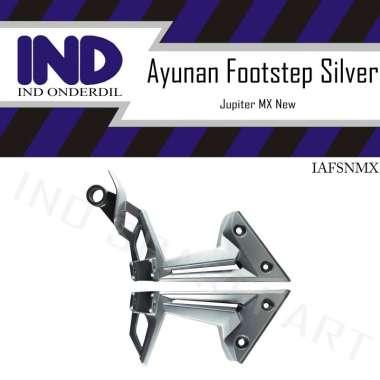 harga IND Onderdil Pangkon Foot Step Belakang Motor for Jupiter MX 135 New - Silver SILVER Blibli.com