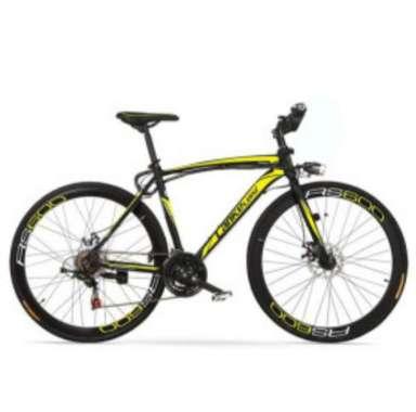harga Lankeleisi Sepeda Gunung Elektrik Smart Moped 36V 10AH - RS600 - Black/Yellow Blibli.com