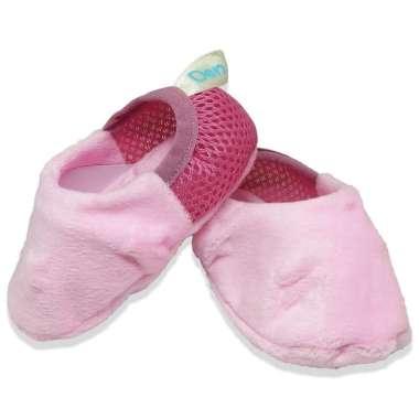 harga Den n Jes ES006 Baby Shoes Newborn Sepatu Kain Lembut Bayi 0-12 bulan Pink Blibli.com