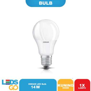 harga OSRAM Lampu Bohlam LED 14 Watt Kuning Kuning / Warm White Blibli.com
