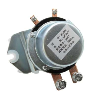 harga High Current 24V 300AMP Normally Open Contactor Solenoid Relay for Winch Blibli.com