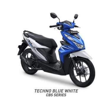 Bangka Belitung - Honda All New BeAT Sporty CBS Sepeda Motor [VIN 2020]