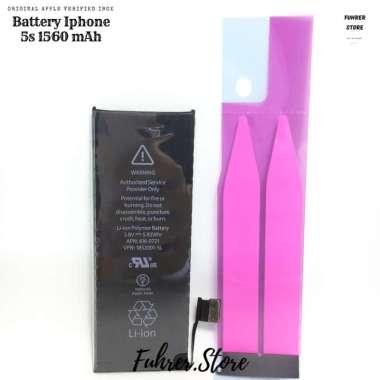 harga Apple Baterai Handphone for Iphone 5S [1560 MAh/ Original] Blibli.com