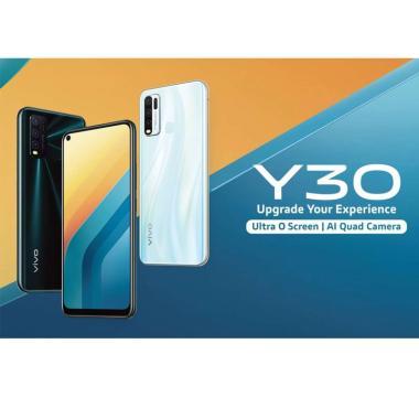 harga Vivo Y30 4-128 GB Free Headphone BLACK Blibli.com