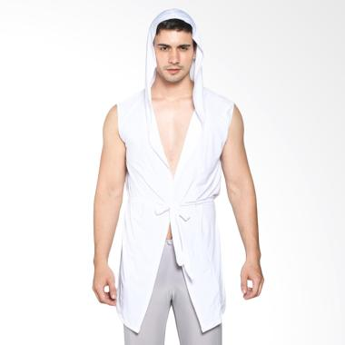 Boostwear Jubah Mimpi Baju Tidur - Putih