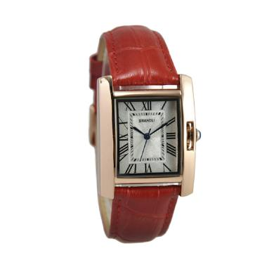 Brandli A 385 Jam Tangan Wanita - Merah Ring Rosegold