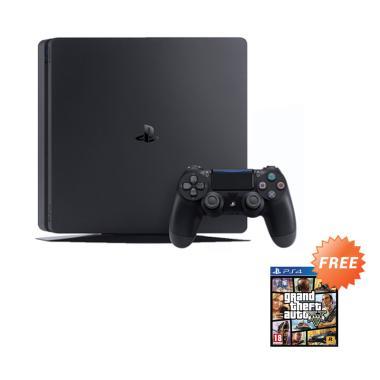 SONY PS4 Slim REG ASIA [500 GB] + Game GTA V
