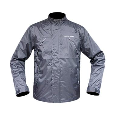 Respiro Air Intake R1 Jaket Motor Pria - Black