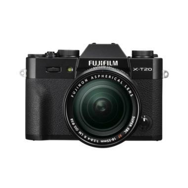 harga Fujifilm X-T20 kit XF 18-55mm Kamera Mirrorless + Instax Share SP2 + Sandisk extreme 32gb By Claim  - Black Fujishopidbali Blibli.com
