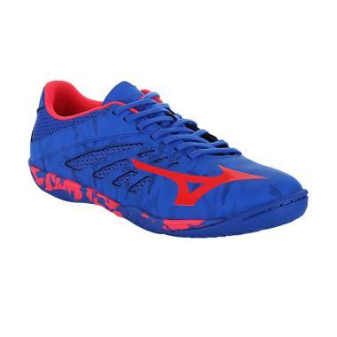 Mizuno Basara 103 Sala Sepatu Futsal - Blue Q1GA173164