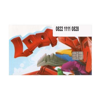 Simpati LOOP Nomor Cantik 0822 1111 0828 Kartu Perdana