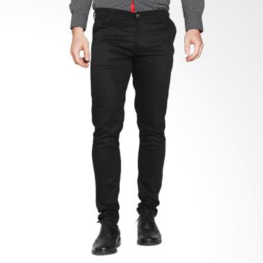 VM Celana Panjang Slimfit Stretch Hitam - Long Pant