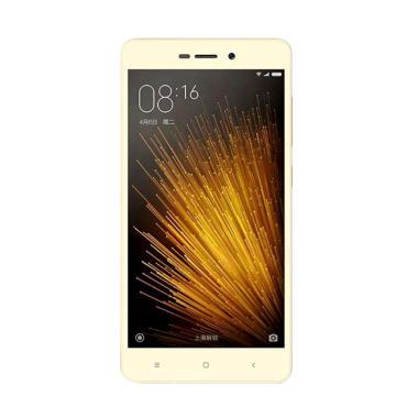 Xiaomi Redmi 3X Smartphone - Gold [32GB/2GB] + Free MMC 32GB