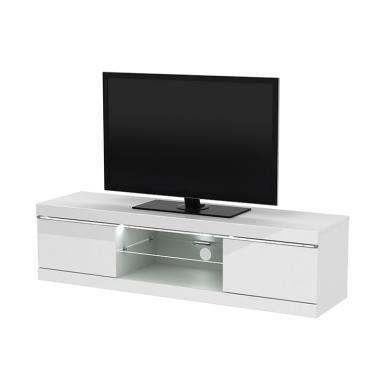 Prissilia Delacroix Rak TV - White Gloss