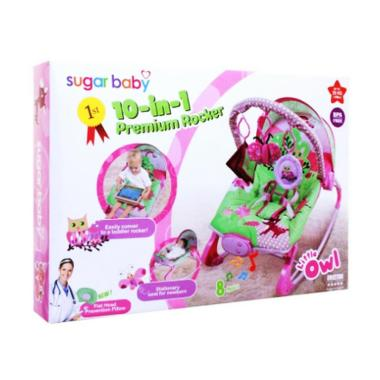 Sugar Baby 10in1 Premium Rocker Bouncer - Owl