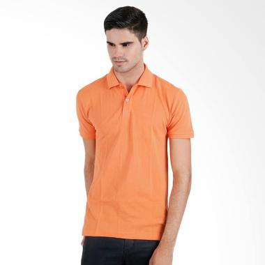 Elfs Shop Lacost Cotton Kaos Polo - Orange