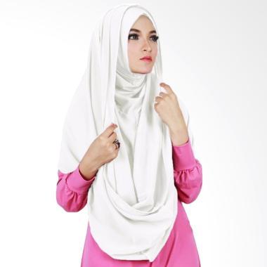 Milyarda Hijab Sirhood Kerudung - Putih
