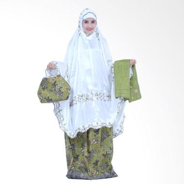 Mukena Yumna Behel Batik Galunggung Ijo