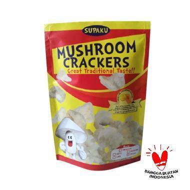Supaku Mushroom Crackers Kerupuk Jamur