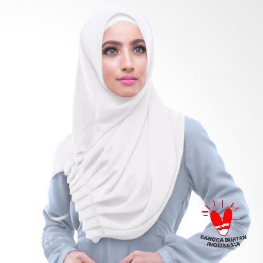 Milyarda Hijab Alya Jilbab Instant - Putih
