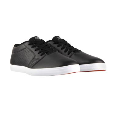 Piero Suedo BTS P50015 Sepatu Kasual - Hitam Putih
