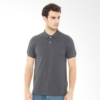 Svperbia T-Shirt The Essential Kaos Polo Pria - Grey