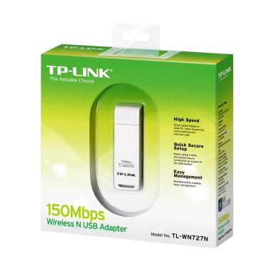 TP-LINK TL-WN727N USB Wifi Dongle Adapter [150 Mbps]