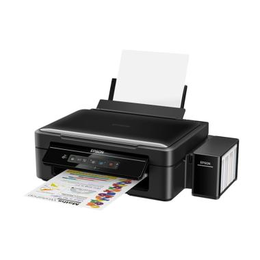 Epson L385 Wifi Printer - Hitam [Print/ Scan/ Copy]