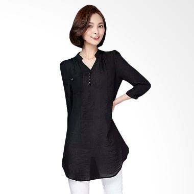 Fashion Mamamia Collection Blouse Odelia - Hitam
