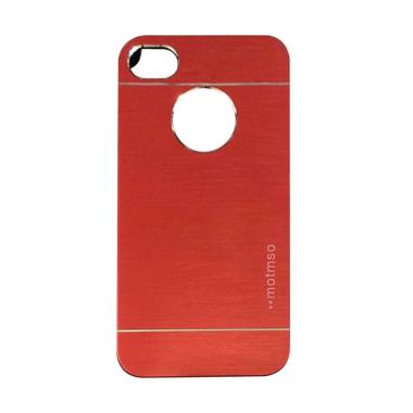 Motomo Metal Hardcase Casing for iP ... / iPhone 6 4.7 Inch - Red
