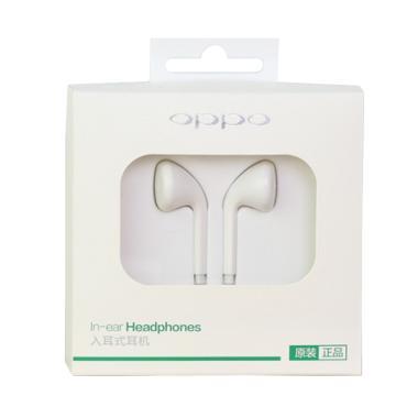OPPO Original100% MH-133 Stereo In Ear Headphone - Putih - [FREE RING]