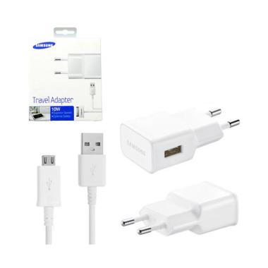Samsung Original Charger for Samsung S4 or S5 - White [10 Watt]