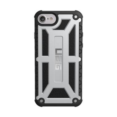 UAG Monarch Casing for iPhone 8/7/6S - Platinum