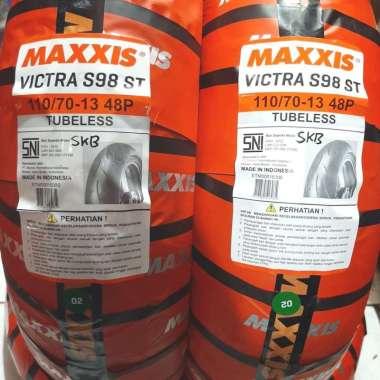 Ban Tubeless Ban Depan NMax Maxxis Victra S98 110 / 70 - 13