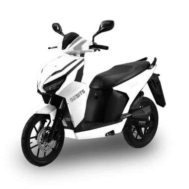 GESITS G1 Sepeda Motor Listrik [OTR Duri - Riau - Sumatera] White Duri & Dumai