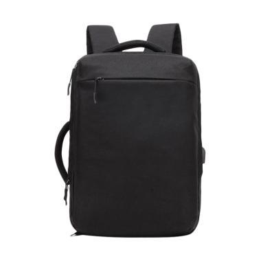 OZUKO 8904 Original Anti-Theft Back ... ravel College Bag - Black