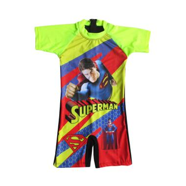 Rainy Collections Karakter Superman ... Hijau Terang [6-11 Tahun]