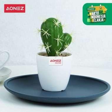 harga AONEZ Artificial Flower Tas Goni Bunga hiasan Tanaman kaktus Buatan - 14cm 2 Multicolor Blibli.com