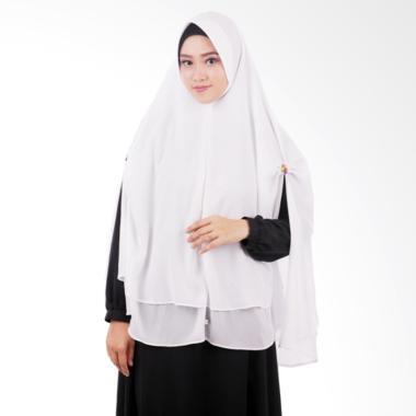 Atteena Hijab Khimar Nashmia - White