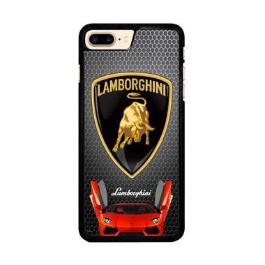 Flazzstore Lamborghini Logo X3419 C ... e 7 Plus or iPhone 8 Plus