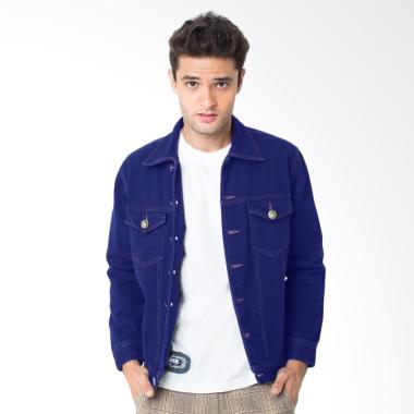 People's Denim Indigo Men Jacket - Blue