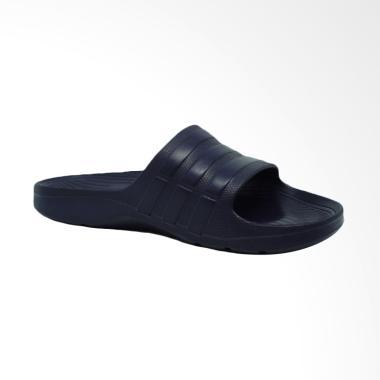 adidas Men Swim Duramo Slide Slip On Sandal - Navy [BB0498]